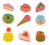 Cosas dulces fijadas Foto de archivo libre de regalías