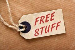 Cosas gratis Fotografía de archivo