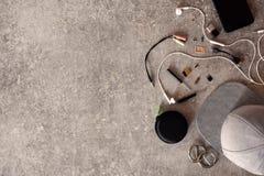 Cosas o accesorios del ` s del adolescente para la vida cotidiana Imagen de archivo