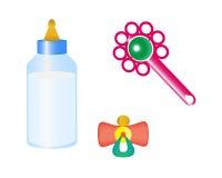 Cosas para el bebé ilustración del vector