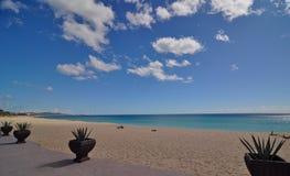 Cosat Azul Los Cabos Mexico. View of the Costa Azul Beach san Jose Del Cabo Mexico stock photo