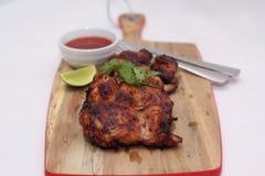 Coscie cotte del pollo Fotografia Stock Libera da Diritti