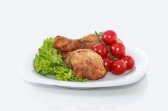 Coscie di pollo. fotografie stock