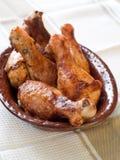 Coscie di pollo Fotografie Stock