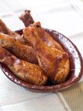 Coscie di pollo Fotografie Stock Libere da Diritti