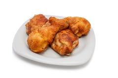 Coscie di pollo calde. fotografia stock