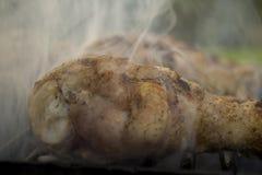 Coscie di pollo del barbecue Fotografia Stock