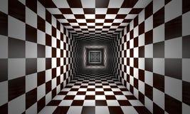 Coscienza limitata (metafora di scacchi) royalty illustrazione gratis