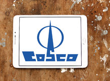 Cosco container shipping logo Royalty Free Stock Photography