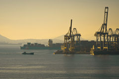 Cosco Container terminal Royalty Free Stock Photos