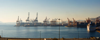 Cosco Container terminal Royalty Free Stock Photography