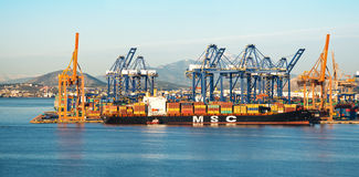 Cosco Container terminal Stock Photos