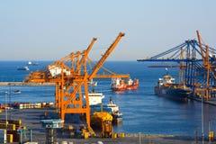 Cosco zbiornika terminal zdjęcia royalty free