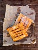 Coscorroes, dolce tipico dall'Alentejo, Portogallo Immagini Stock Libere da Diritti