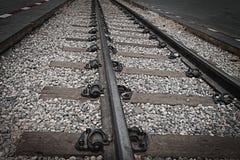 Cose up: stary kolejowy most nad rzecznym Kwai, Kanchanaburi, Fotografia Stock