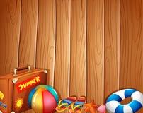 Cose usate durante l'estate Fotografie Stock