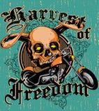 Cosecha de la libertad Foto de archivo libre de regalías