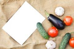 Cosecha del otoño de verduras Día de la acción de gracias Imagen de archivo