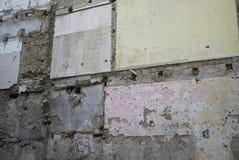 Cosenza velho de construção desmoronado Imagem de Stock