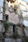 Cosenza velho de construção desmoronado Fotos de Stock