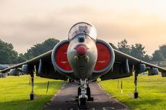 Hawker Siddley Harrier Jump Jet stock photo