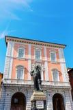 Cosimo雕象我骑士正方形的,比萨,意大利 库存图片
