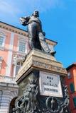 Cosimo雕象我骑士正方形的,比萨,意大利 免版税库存图片