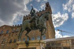 Cosimo I DE ` Medici - Florence, Italië stock afbeeldingen