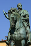 Cosimo Medici statue in Florence, Italy Royalty Free Stock Photos