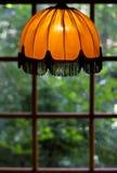 Cosiness van een oude lampschaduw Stock Fotografie