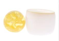 Cosmético natural para sua pele Imagem de Stock