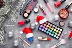 Cosméticos del maquillaje fotos de archivo libres de regalías