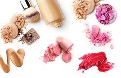 Cosméticos del maquillaje Imagen de archivo libre de regalías