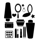 Cosméticos e produtos de beleza Foto de Stock
