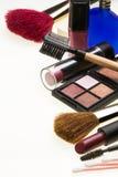 Cosméticos - maquillaje Imagen de archivo