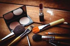 Cosméticos y accesorios para el maquillaje Fotos de archivo