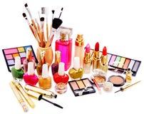 Cosméticos y perfume decorativos. Imagen de archivo libre de regalías