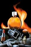 Cosméticos y perfumes fotos de archivo libres de regalías