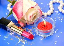 Cosmétiques décoratifs Images stock