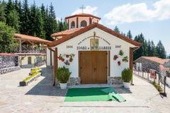 Cosmas и церковь Damian в монастыре Святого Panteleimon в Болгарии Стоковое фото RF