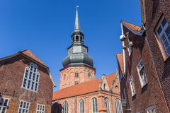 Cosmas and Damian church in Hanseatic city Stade Royalty Free Stock Photo