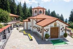Cosmas i Damian kościół w monasterze święty Panteleimon w Bułgaria Obraz Royalty Free