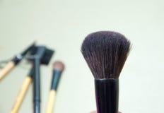 Cosmetic& x27 βούρτσα του s Στοκ Φωτογραφία