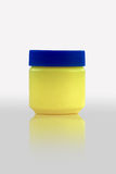 Cosmetic. Blank yellow vaseline bottle, cosmetic for everybody Royalty Free Stock Image