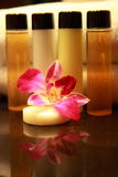 Cosmetic. Amenities in a 5 star Spa resort Stock Photography