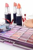 Cosmetic accessories Royalty Free Stock Images