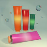 Cosmetic aids products 3d illustration Stock Photo