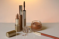 Cosmetic assortment Royalty Free Stock Image
