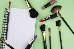 Cosmetic background Stock Photo