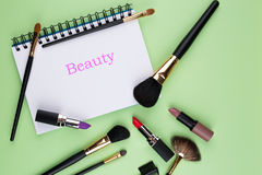 Cosmetic background Royalty Free Stock Images